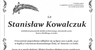 (Polski) Odszedł Stanisław Kowalczuk